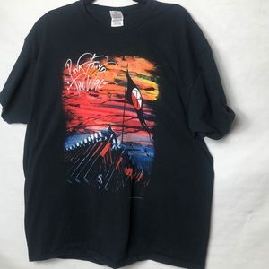 Pink Floyd The Wall graphic band Tee shirt